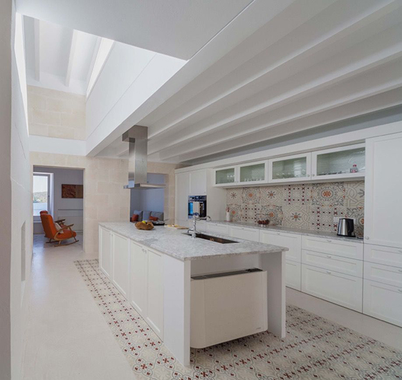 Galeria de imagenes de baldosas hidraulicas en exteriores for Baldosas para cocinas modernas